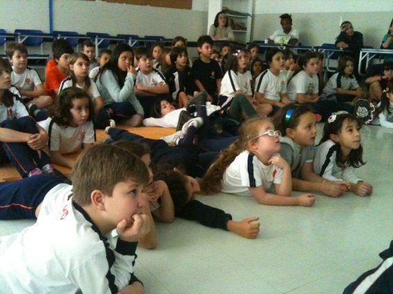 Sessão no Colégio Degraus (Jundiaí-SP)